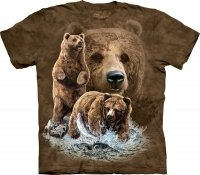 Find 10 Brown Bears - Koszulka The Mountain