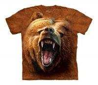 Grizzly Growl - The Mountain - Koszulka Dziecięca