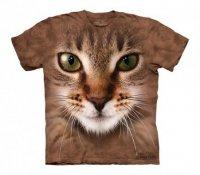 Striped Cat Face - The Mountain - Koszulka Dziecięca