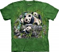 Find 13 Pandas - T-Shirt The Mountain