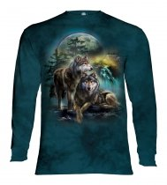 Wolf Lookout - Long Sleeve The Mountain