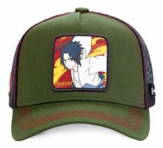 Sasuke Green Naruto - Kšiltovka Capslab