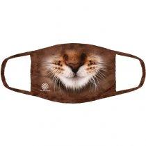 Striped Cat Pet - 3 vrstvé Rouška