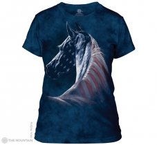 Patriotic Horse - The Mountain - Damska