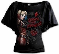 Harley Quinn Embrace Madness - Bat Spiral