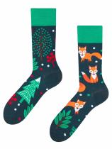 Rezavá Liška - Ponožky Good Mood
