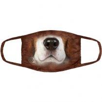 Beagle Dog - 3 vrstvé Rouška