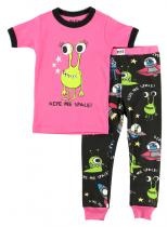 Girls Give Me Space - dětská pyžama LazyOne