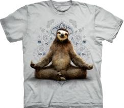 Vriksasana Sloth Yoga - The Mountain