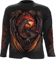 Dragon Furnace - Longsleeve Spiral