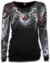Life And Death Cross - Baggy Top Spiral – Ladies