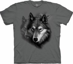 Wolf Portrait Grey - The Mountain Base