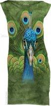 Vibrant Peacock - Šaty The Mountain