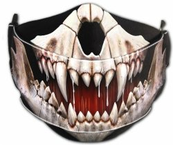 Rock Jaw - Mask with Adjuster Spiral