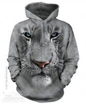 White Tiger Face - Mikina The Mountain