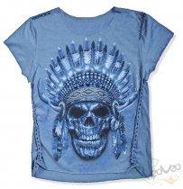 Native American - Ladies Cool Skullz