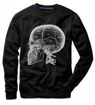 X - Ray Skull Black - Mikina Underworld