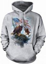 American Eagle Flag - Bluza The Mountain