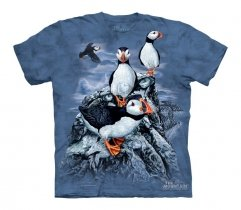 Find 10 Puffins - The Mountain - Koszulka  Junior