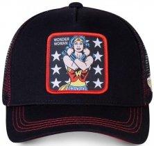 Wonder Woman Black DC - Czapka z daszkiem Capslab