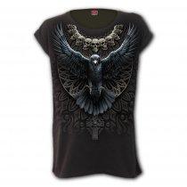 Raven Skull - Loosefit Spiral - Damska