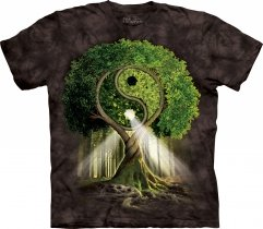Yin Yang Tree Black - The Mountain