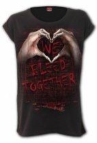 We Bleed Together - Loosefit Spiral - Damska