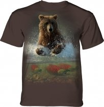 Lucky Fishing Hole Bear - The Mountain