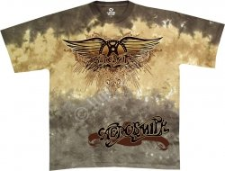 Aerosmith Ray Logo - Liquid Blue