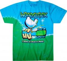 Woodstock Graffiti - Liquid Blue
