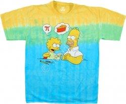 The Simpsons Mmm Pi - Liquid Blue