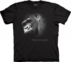 Gorilla Protect My Habitat - The Mountain