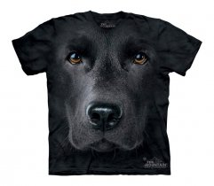Black Lab Face - The Mountain - Junior