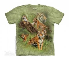 Wild Tiger Collage - The Mountain - Junior