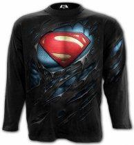Superman Ripped - Longsleeve Spiral