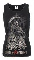 Soa Reaper Skulls - Razor Top Spiral - Damska