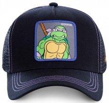 Donnie Black Ninja Turtles - Czapka z daszkiem Capslab