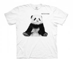 Panda Cub Protect My Home White - Junior The Mountain