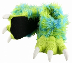 Green Monster Paw Slippers - Papcie - LazyOne