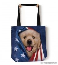 Patriotic Golden Pup - Torba - The Mountain