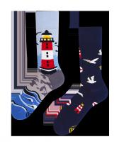 Nordic Lighthouse - Skarpety - Many Mornings
