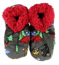 Happy Camper - Fuzzy Feet - Papcie - LazyOne