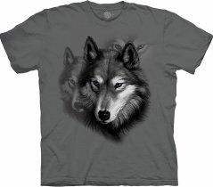 Wolf Portrait Grey - The Mountain Base