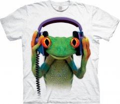 DJ Peace Frog  White  - The Mountain