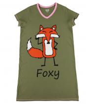 Foxy Nightshirt - Koszula Nocna - LazyOne