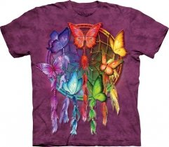Rainbow Butterfly Dreamcatcher - The Mountain