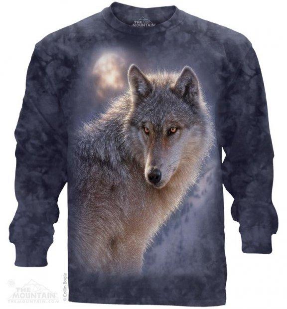Adventure Wolf - Long Sleeve The Mountain