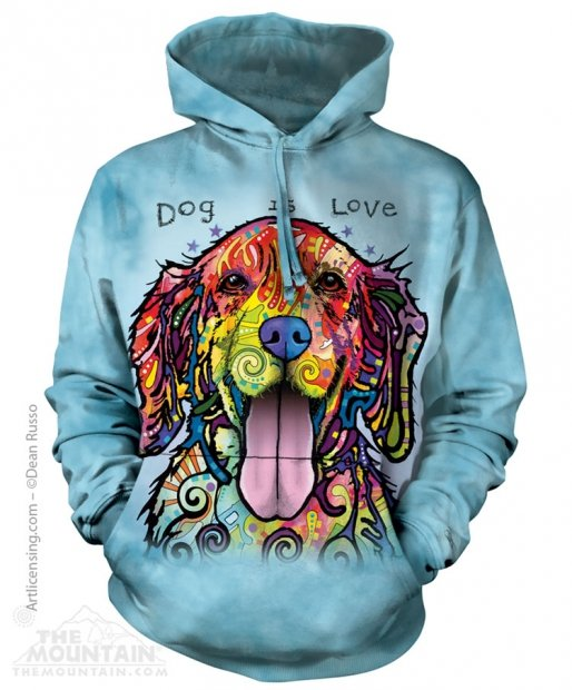 Dog Is Love - Mikina The Mountain