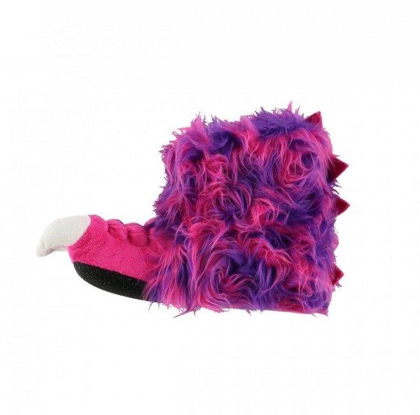 Pink & Purple Monster Paw Slippers - Bačkory LazyOne