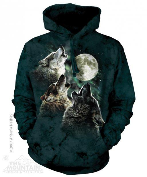 Three Wolf Moon - Mikina The Mountain